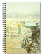 The Mill Dam Cos Cob Spiral Notebook