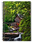 The Mill Paint 2 Spiral Notebook