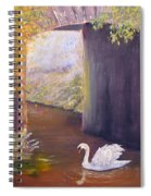 The Mill Swan Spiral Notebook
