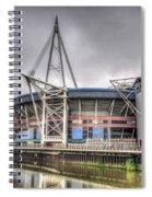 The Millennium Stadium Spiral Notebook