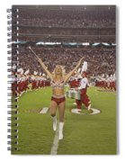 The Million Dollar Marching Band Of The University Of Alabama Spiral Notebook