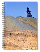 The Mine Spiral Notebook