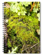 The Miniature World Of The Moss Spiral Notebook