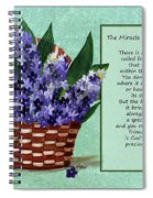 The Miracle Of Friendship Spiral Notebook