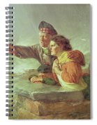 The Missing Boat, C.1876 Spiral Notebook