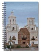 The Missioin Of San Xavier 10 Spiral Notebook