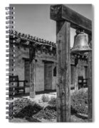 The Mission Bell B/w Spiral Notebook