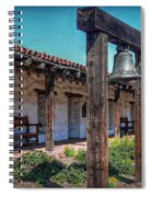 The Mission Bell Spiral Notebook