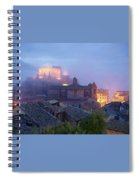 The Mists Of Soriano Spiral Notebook