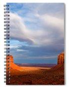 The Mittens Magical Light Spiral Notebook