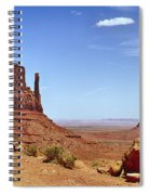 The Mittens Monument Valley Spiral Notebook