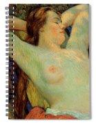The Model's Siesta Spiral Notebook
