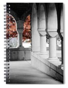 The Monastery In Autumn Spiral Notebook