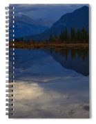 The Morning Blues Spiral Notebook