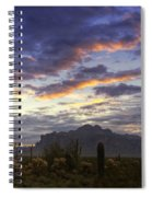 The Morning Glow  Spiral Notebook