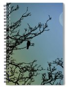 The Morning Moon Spiral Notebook