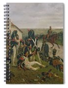 The Morning Of The Battle Of Waterloo Spiral Notebook
