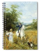 The Morning Ride Spiral Notebook