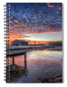 The Morning Sky Spiral Notebook