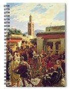 The Moroccan Storyteller Spiral Notebook