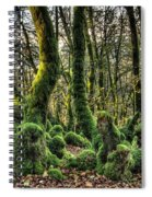 The Mossy Creatures Of The  Old Beech Forest 1 Spiral Notebook