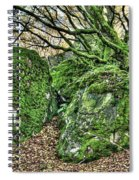 The Mossy Creatures Of The Old Beech Forest Spiral Notebook