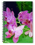 The Most Wonderful Flowers Spiral Notebook