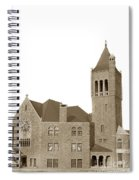 The Mother Church The First Church Of Christ Scientist Boston Massachusetts Circa 1900 Spiral Notebook