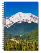 The Mountain And The Valley Spiral Notebook