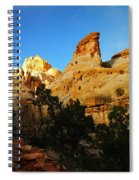 The Mountains Of Capital Reef   Spiral Notebook