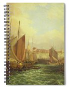 The Mouth Of The Yare, 1821 Spiral Notebook