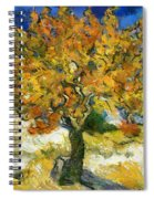 The Mulberry Tree After Van Gogh Spiral Notebook