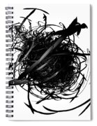 The Murder Of Crows By Jammer Spiral Notebook