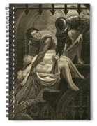 The Murder Of The Two Princes Spiral Notebook