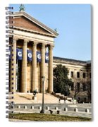 The Museum Of Art In Philadelphia Spiral Notebook