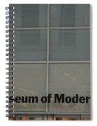 The Museum Of Modern Art Spiral Notebook