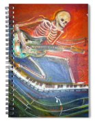 The Music Must Go On Spiral Notebook