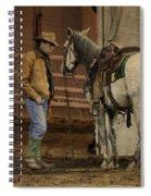 The Mustang Whisperer Spiral Notebook