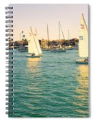 The Mystery Of Sailing Spiral Notebook