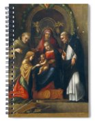 The Mystic Marriage Of St Catherine Spiral Notebook