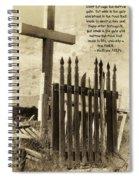 The Narrow Gate Spiral Notebook