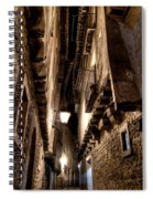 Narrow Street In Albarracin Spiral Notebook