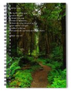 The Narrow Way Spiral Notebook