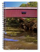 The Narrows Covered Bridge 1 Spiral Notebook