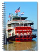 The Natchez 1 Spiral Notebook