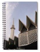 The National Mosque Kuala Lumpur Spiral Notebook