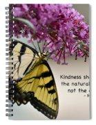 The Natural Way  Spiral Notebook
