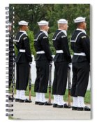 The Navy Ceremonial Guard Spiral Notebook