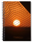 The Netted Sun Spiral Notebook