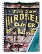 The New Birdsell Clover Huller Spiral Notebook